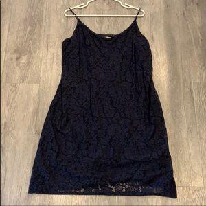H&M Navy Lace Dress